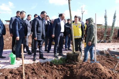 Başkan Çiftçi Siverek Vadi Parkını İnceledi