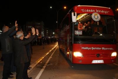 Başkan Demirkol Başarılı Öğrencileri Çanakkaleye Uğurladı