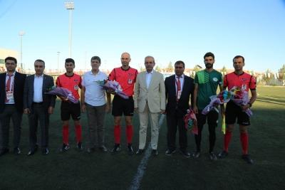 Başkan Demirkol Haliliye Belediyesi Amatör Ligi Sezonunun Açılışını Yaptı