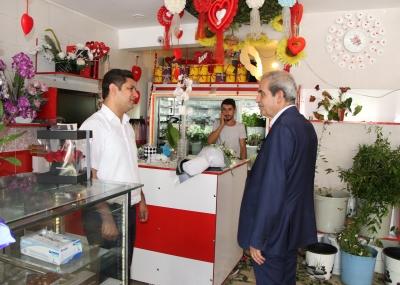 Başkan Demirkol Halkla iç içe Olmayı Sürdürüyor
