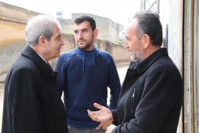 Başkan Demirkol Kısas'ta Vatandaşlarla Buluştu