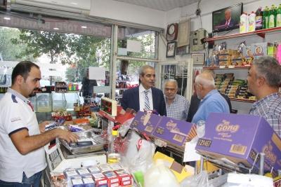Başkan Demirkol Mahalle Gezilerini Mimar Sinan ile Devam Ettirdi