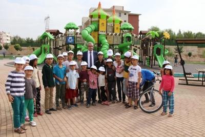 Başkan Demirkol Yeni Parkları Haliliye'ye Kazandırıyoruz