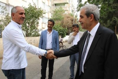 Başkan Demirkol Yenişehir Mahallesin'de Esnaf Ve Vatandaşla Buluştu