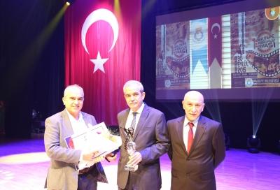 Başkan Demirkol'a 'Göbeklitepe' Tanıtım Ödülü