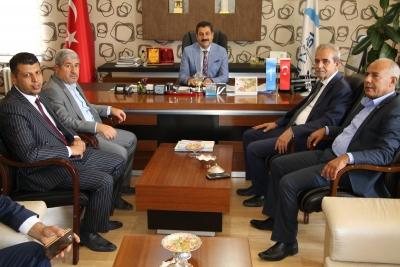 Başkan Demirkol'dan işkur Müdürüne Ziyaret