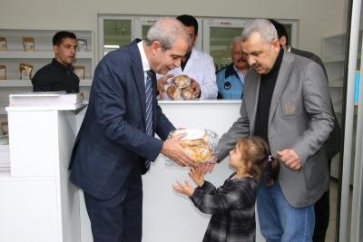 Başkan Demirkol'dan Türkiye'de Bir İlk Daha PKU Hastalarına Ücretsiz Ekmek