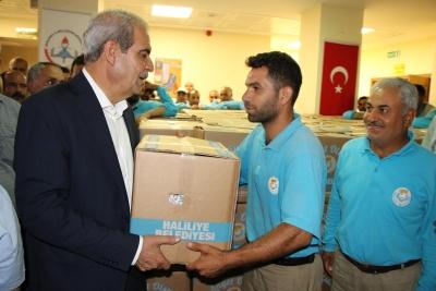 Başkan Demirkol,Temizlik İşleri Çalışanlarıyla Bir Araya Geldi