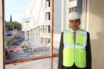 Başkan Demirkol'un Dev Eseri Açılış İçin Gün Sayıyor