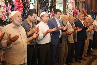 Başkan Ekinci Bereket Duasına Katıldı
