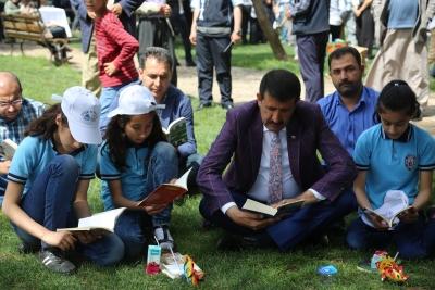 Başkan Ekinci 'Eyyübiye Okuyor' Projesi Ödül Törenine Katıldı