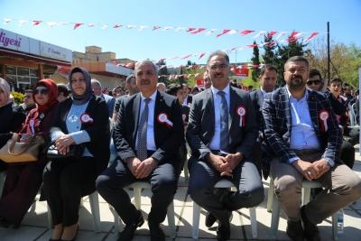 Başkan Kuş 11 Nisan Etkinliğinde Vatadaşlarla Buluştu