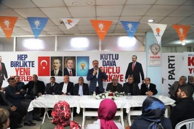 Başkan Nihat Çiftçi Birecik Belediyesinde Koodinasyon Toplantısı Düzenledi