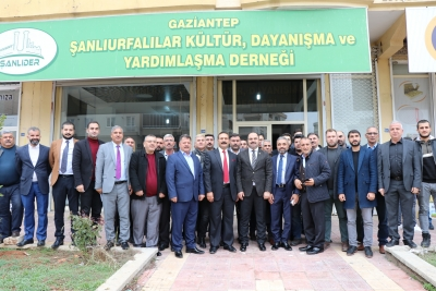 Başkan Nihat Çiftçi Gaziantep'teki Şanlıurfalılar İle Bir Araya Geldi
