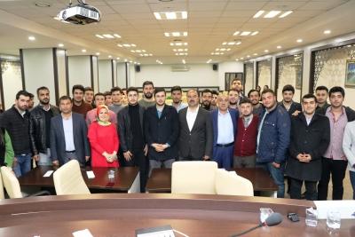 Başkan Nihat Çiftçi Büyükşehir Belediyesi Gençliği İle Bir Araya Geldi