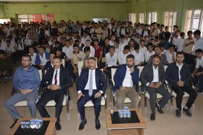 Başkan Resul Yılmaz öğrencilerle bir araya geldi