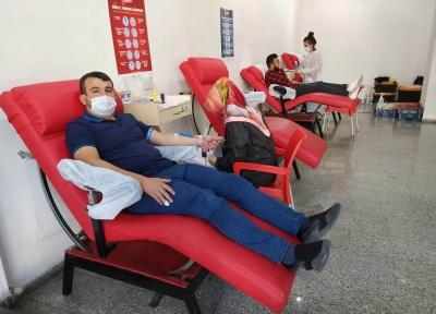 Başkan Şanlı, Kan Bağışında Bulunarak Çağrıda Bulundu