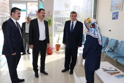 Başkanlardan Karaköprü Esnafına Teşekkür Ziyareti