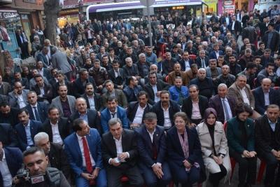 Beyazgül Ve Milletvekilleri Kayral'ın Seçim Bürosunu Açtı