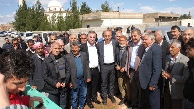 Bozova Kırsalın'dan Aksoy'a Destek