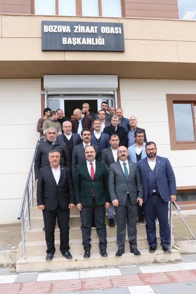 Bozova Otogar Ve İtfaiye İstasyonu Projesi Hazır