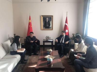 Büyükelçi Önen, Çin ile ilişkilerimizi geliştirme gayretini sürdürüyor