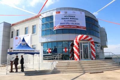 Büyükşehir Belediyesi Siverek İdare Binası Hizmete Sunuldu