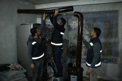 Büyükşehir Belediyesin'den İhtiyaç Sahiplerine Soba Yardımı