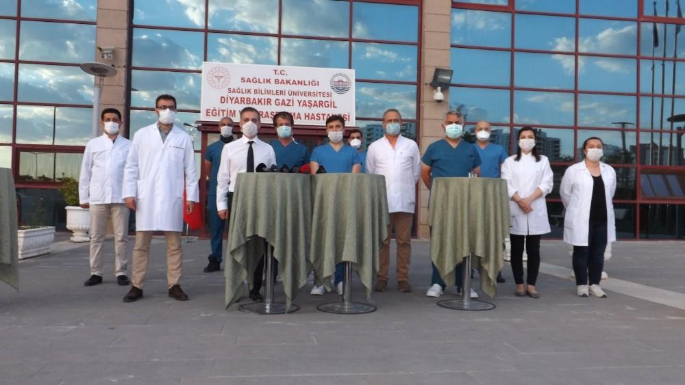 """""""Türk Işın Tedavisi"""" Korona virüse karşı başarılı oldu"""