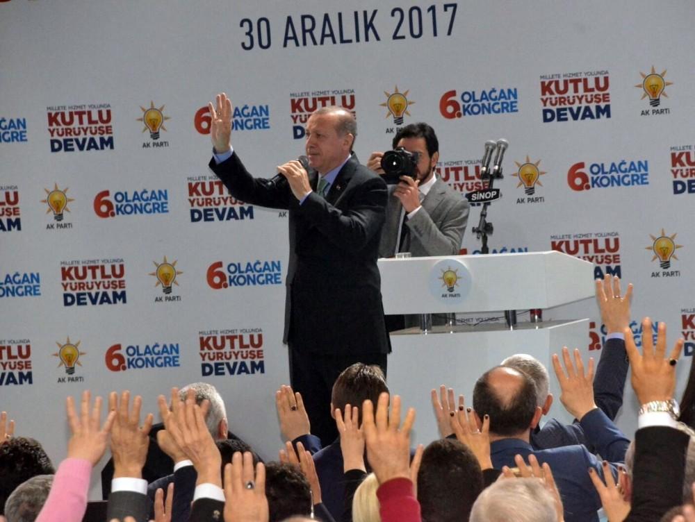 Cumhurbaşkanı Erdoğan 'Bunlar aşk ile oluyor'