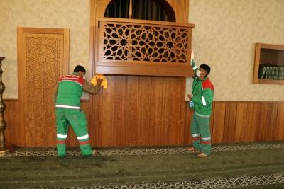 Camilerde Ramazan hazırlığı başladı