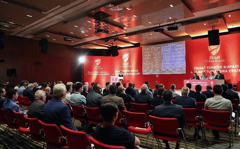 Ziraat Türkiye Kupası'nda 5. Tur eşleşmeleri belli oluyor