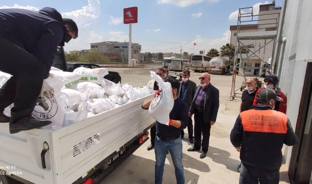 Birecik'te 5 bin aileye gıda yardımı