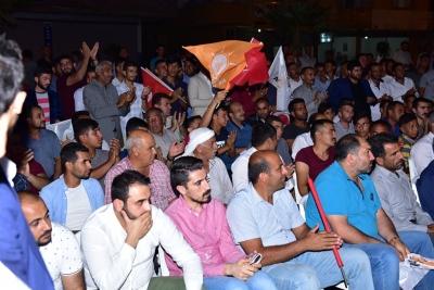 Ceylanpınar'da, Ak Partiye Katılımlar Devam Ediyor