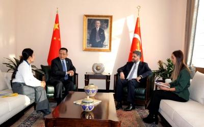 Çin-Asya Ekonomik Kalkınma Derneğinden Büyükelçi Önen'e ziyaret