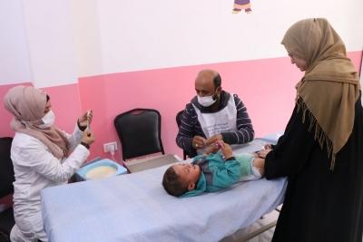 Çocuk Felci aşı kampanyası başlatıldı.
