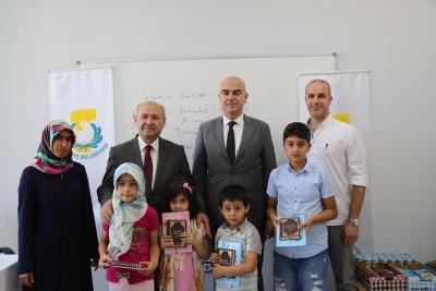 Çocuklar Haliliye Belediyesinde Kur'an-ı Kerim Öğreniyor