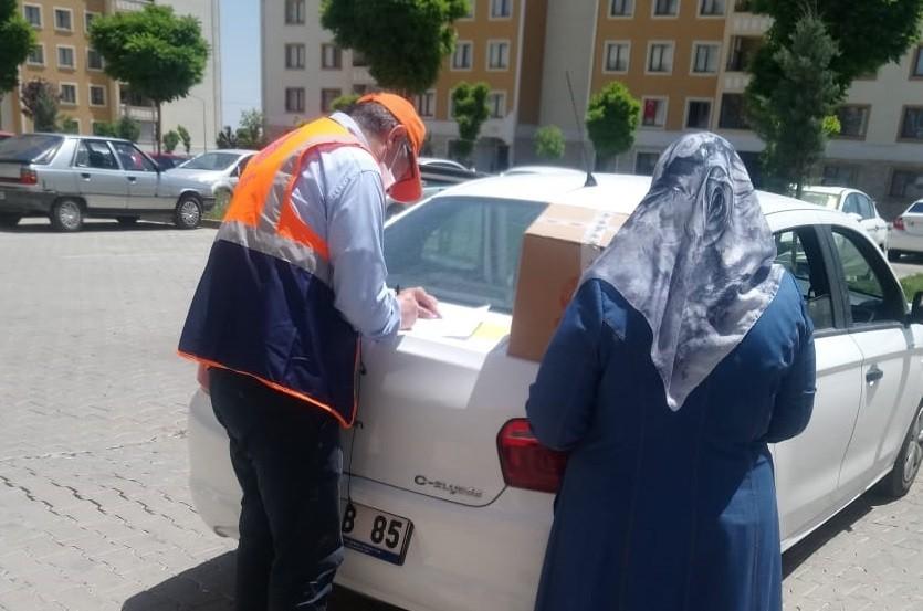 Şanlıurfa'da 3 bin aileye gıda kolisi