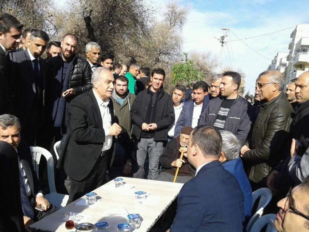 Bakan Fakıbaba, Birecik'te taziyelere katıldı
