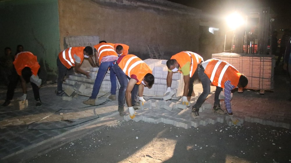 Haliliye Belediyesi çalışmalarını sürdürüyor