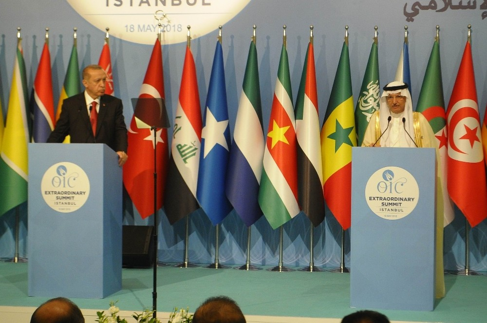 """Cumhurbaşkanı Erdoğan, """"""""Uluslararası düzeyde destek bekleyen ülkelerin Filistin ve Kudüs'e yönelik tutumlarına göre değerlendireceğiz"""""""