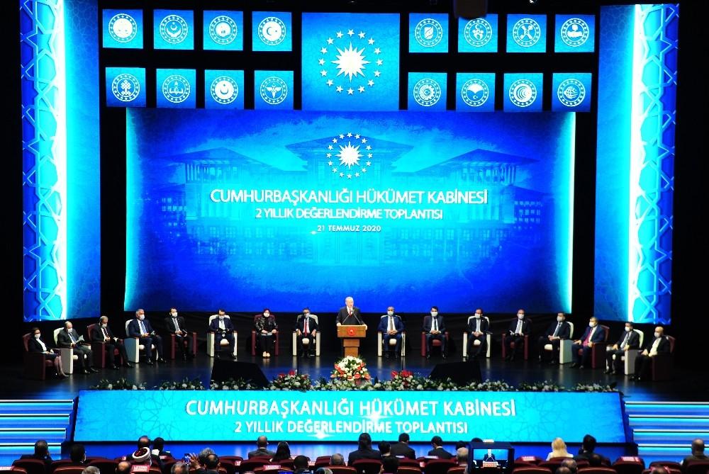 Cumhurbaşkanı Erdoğan Cumhurbaşkanlığı Hükümet Sistemini Değerlendirdi