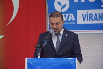 DEVA Partisi Viranşehir ilçe başkanlığı 1. Olağan İlçe Kongresini gerçekleştirdi.