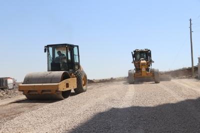 Doğukent'e Yeni Yollar Kazandırılıyor