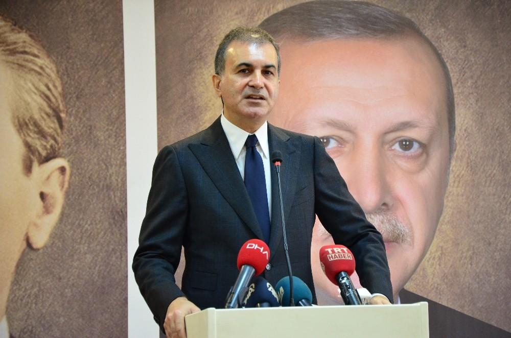 """AK Parti Sözcüsü Çelik: """"Türkiye'yi tehdit etmek kimsenin haddine düşmez"""""""