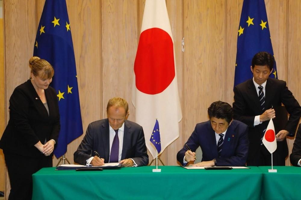 AB ve Japonya arasında tarihi anlaşma imzalandı