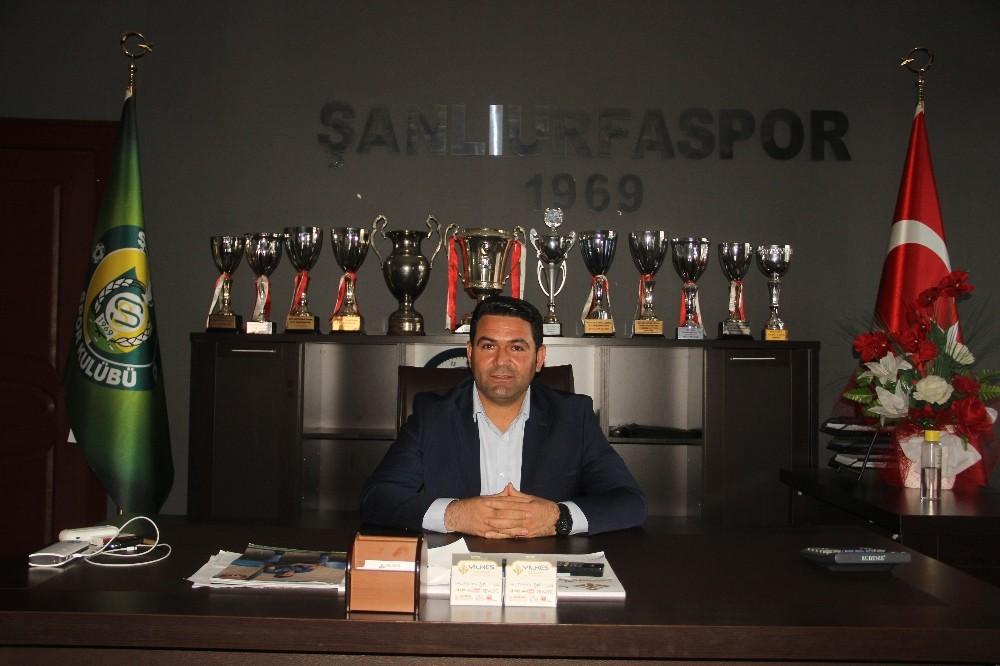 Şanlıurfaspor Başkanı Yılmaz takım için çağrıda bulundu