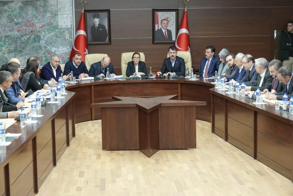 Bakan Kurum: ″Elazığ'da hasar tespit çalışmaları tamamlandı″