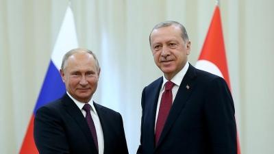 Erdoğan ile Putin'in 'Suriye Trafiği' Hız Kesmiyor