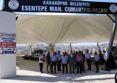 Esentepe'ye Semt Pazarı Kazandırıldı